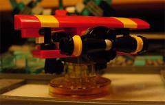 Lego Dimensions Sonic the Hedgehog Tornado (Doc Nero) Tags: lego dimensions dc movie sonic hedgehog midway ninjago doctor who arcade spy hunter joker batman tardis dalek