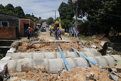 Drenagem na rua javali (seminfmanaus) Tags: amazonas antes manaus obra obras ponte prefeitura ruadapaz seminf