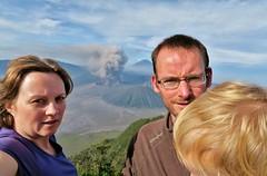IMG_4041 (JoStof) Tags: indonesia java selfie bromo volcano eruption ash smoke seaofsand semeru crater tengger caldera batok jawatimur indonesië idn