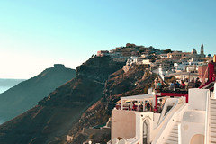 Co (Ivan S. Almeida) Tags: santorini greece houses architetture sky seaside mountains roofs hills