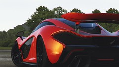 Highlighted (polyneutron) Tags: car photography mclaren p1 orange supercar forza motorsport fm6 forza6 apex pc photomode closeup depthoffield