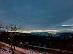 Sonnenuntergang über den Gole di Popoli (nivifer❄) Tags: abruzzen morrone gransasso apenin