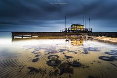 Old tires (Nicolas Reggiani) Tags: lake maguide poselongue aquitaine beach seascape