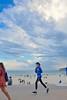 Bondi runner (jeremyhughes) Tags: bondi australia beach bondibeach runner running woman exercise workout street promenade seaside fitness clouds nikon d750 nikkor afszoomnikkor2470mmf28ged sea ocean adidas