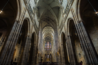 Imposing vaults, St. Vitus Cathedral