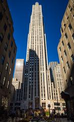 30 Rock (mhoffman1) Tags: oony2016 30rock comcast gebuilding manhattan midtown nbc nyc rcabuilding raymondhood rockefellercenter sonyalpha a7r architecture landmark pano panoramic skyscraper