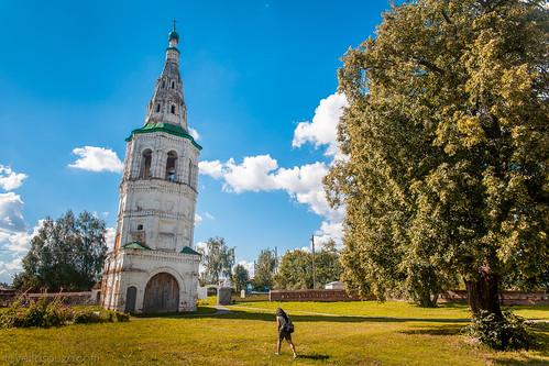 The Bell Tower at Church of Boris and Gleb (Kideksha)