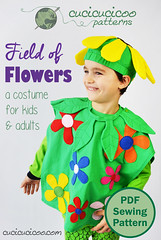 Field of Flowers costume for kids & adults (cucicucicoo) Tags: costume diycostume costumes flowercostume flower flowers kid kids children child dressup halloween carnival halloweencostume carnivalcostume diyhalloweencostume diycarnivalcostume sew sewing sewingpattern pdfpattern indiepattern