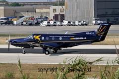 HB-FVD LMML 02-06-2015 (Burmarrad (Mark) Camenzuli) Tags: cn aircraft air pilatus airline registration corviglia 1072 pc1247 lmml hbfvd 02062015