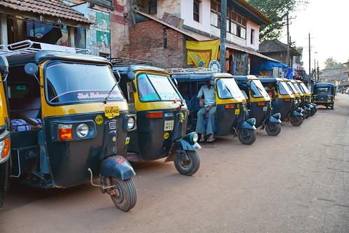 India - Karnataka - Gokarna - Auto Rickshaw - 3