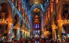 Notre dame de Paris (magic_med) Tags: pope paris france building church architecture nikon worship europe cathedral faith prayer religion pray belief fr hdr d800