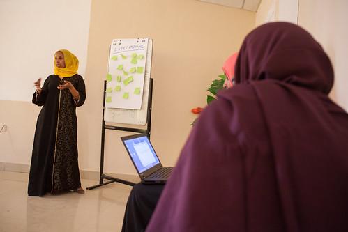 During an FGM Meeting, Hargeisa