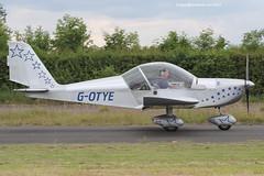 G-OTYE - 2002 build Aerotechnik EV-97 Eurostar, at the 2014 Great North Fly-in (egcc) Tags: eurostar microlight tye laa 2014 ev97 greatnorth godber gotye aerotechnik eshott evektor rotax912 pfa31513858