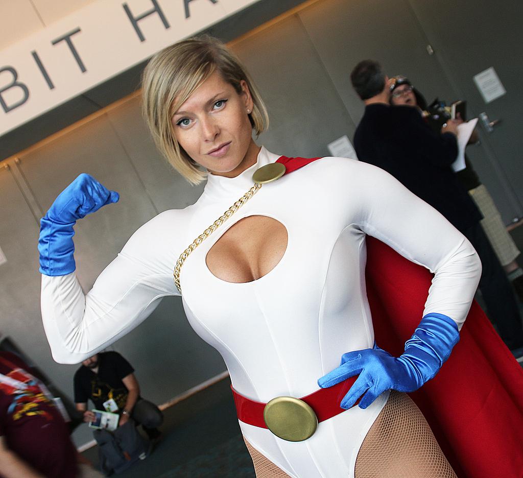 Power girl cosplayers xxx pity
