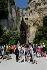 40078265 (wolfgangkaehler) Tags: italy italian europe european unescoworldheritagesite limestone syracuse sicily quarry archeologicalpark sicilian quarries earofdionysius limestonerock sicilyitaly