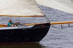 The good life (joscelyn_p) Tags: usa dog man philadelphia water festival river boat sailing ship waterfront pennsylvania ships sails pa sail riverfront tall delaware mast hindu tallships