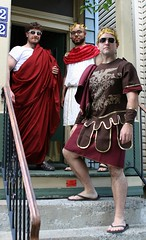 Veni, vidi, vici (ktmqi) Tags: costume newjersey jerseycity togaparty costumeparty hudsoncounty ancientrome jerseycityheights