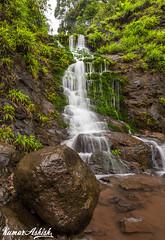 Another beautiful fall near Kas Plateau! (Ashk81) Tags: bw india beauty paradise natural plateau slowshutter maharashtra incredible cpl kaas canonlseries polorizer incredibleindia bwcpl kaasplateau