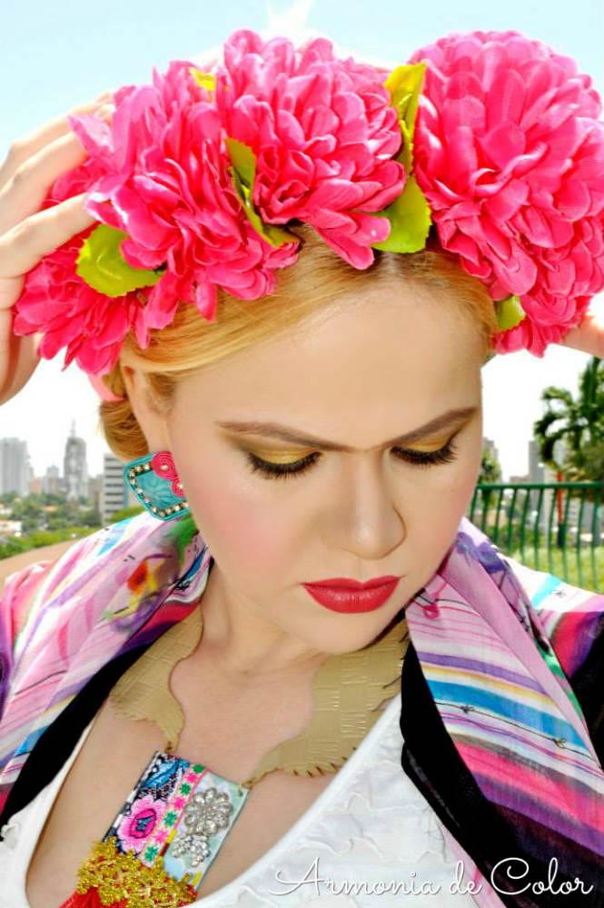 Maquillaje Frida Kahlo 5