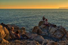 Le_coppie_del_tempo (Danilo Mazzanti) Tags: danilo danilomazzanti mazzanti wwwdanilomazzantiit fotografia foto fotografo photos photography coppie tramonto sentimento colori amore vita mare scogli liguria varazze
