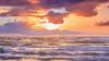 Lever de soleil (Amanclos) Tags: december water waterscape wallpaper waves seascape sea sunset sunrise sunsettime sunriseandsunset sunrisesunset colors violet pourpre portlanouvelle aude france longexposure longueexposition sky ciel nuages clouds