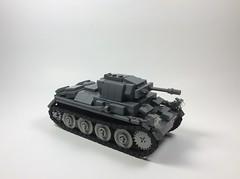 Panzer II Ausf D (mjbricks(flose master)) Tags: tank lego panzer brickarms german ii ausf d