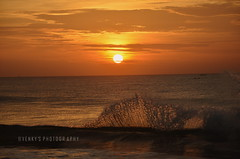 Splash (Venkatesh R) Tags: chennai marina sunrise splash wave waves beach earlymorning clouds nature