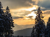 sun playing with the clouds (jonasschmidt1909) Tags: winter cold sun trees clouds snow landscape sunset olympus omd em10 sauerland germany wonderland