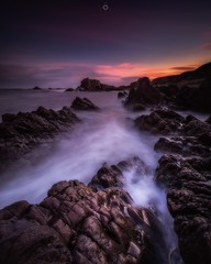 Morning Moment (Augmented Reality Images (Getty Contributor)) Tags: clouds coastline colours findochty landscape leefilters longexposure morayshire morning rocks scotland seascape sunrise water waves