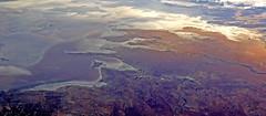 Salt Lake (Dietmar Down Under) Tags: australia nsw fromtheairplanewindow