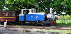 Matheran Light Railway No.740 (SteveInLeighton's Photos) Tags: 2005 bedfordshire beds england may narrowgauge railroad railway leightonbuzzard steam locomotive train orensteinandkoppel matheran