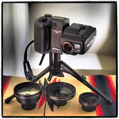 Coolpix 995 (NoJuan) Tags: vintagedigitalcamera nikon vintagenikonporn coolpix995 nikon995 coolpix nikoncoolpix995 cameraporn cameraportrait lensporn nikonlensconverters