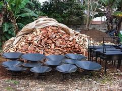 Preparing for Christmas II - 18th November 2016 (princetontiger) Tags: christmas xmas firewood wood firepit openfire bbq roadsidestalls kenya roadside stall