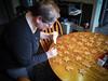 The Icing Begins (raddad! aka Randy Knauf) Tags: raddad6735212 raddad randyknauf raddad4114 randy knauf gingerbreadman gingerbread gingerbreadmen chirstmastradition hickory hickorynorthcarolina family