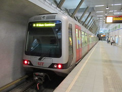 RET 5315 op station Wilhelminaplein (RaAr2010) Tags: wilhelminaplein ret5315 metro ret openbaarvervoer ov rotterdam