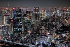 Bat's-eye View from the Top of Roppongi (akirat2011) Tags: japan tokyo roppongi hdr 9xp