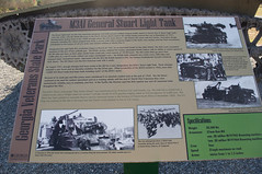 Cordele 97 - Georgia Veterans State Park (RNRobert) Tags: cordele crispcounty generalstuart georgia georgiastateveteranspark honey lighttank m3a1 missstatenisland afv armoredfightingvehicle