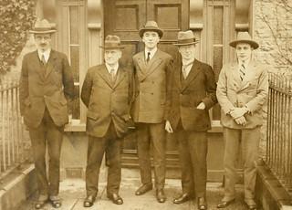 Irish Boundary Commission's first sitting in Ireland