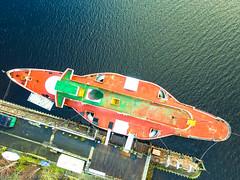 Maid of the Loch (kyleknox) Tags: balloch scotland unitedkingdom gb boat ship steamer steamship maidoftheloch loch lomong lomond phantom dji