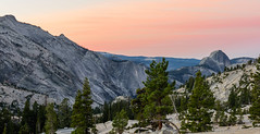 Olmsted Point - Pre-sunrise Pano (CloudRipR) Tags: nikon d810 nikkor rock granite yosemitenationalpark sunrise alpenglow olmstedpoint