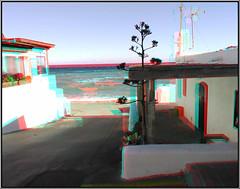 Las Negras (Daniel Solbas, fotografia estereoscopica) Tags: grotte spéléologie stereoscopic estereoscopica anaglifo anaglyphs anaglifi andalucia turismo españa stereophoto 3d pokescope almeria sanjose lasnegras playas pita pitas