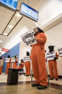Mike Fiala Tells the Story of a Guantánamo Detainee in the Union Station Food Court
