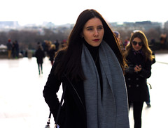 Mysterious Girl (AbdelBokeh) Tags: mysterious girl sexy brunette brune