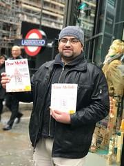 Distribution of The True Mehdi Magazine, Pakistan High Commission and Embassy, London, England 2 (Mehdi/Messiah Foundation International) Tags: pakistan london england muslim islam imam mehdi