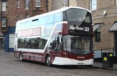 20170110 - 0510 - Lothian Buses - Wright Gemini - Fleet of the Future - No 444 - Route 22 - Shore - Edinburgh (Paul Weston (Mr Mildenhall)) Tags: lothianbuses wrightgemini fleetofthefuture 444 route22 shore edinburgh