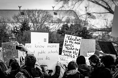 2017.01.29 Oppose Betsy DeVos Protest, Washington, DC USA 00246