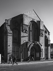 Linthorpe Road (mycoil) Tags: bw blackandwhite architcture mthodist church lumix 14mm urban