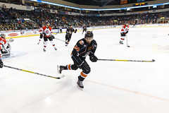 "Missouri Mavericks vs. Cincinnati Cyclones, January 25, 2017, Silverstein Eye Centers Arena, Independence, Missouri.  Photo: John Howe / Howe Creative Photography • <a style=""font-size:0.8em;"" href=""http://www.flickr.com/photos/134016632@N02/32558226265/"" target=""_blank"">View on Flickr</a>"
