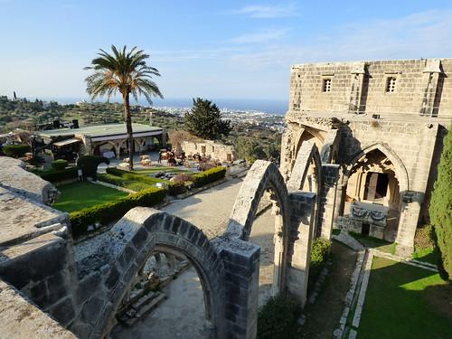 Bellapais Abbey, upper cloister walk