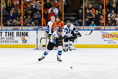 "Missouri Mavericks vs. Wichita Thunder, February 3, 2017, Silverstein Eye Centers Arena, Independence, Missouri.  Photo: John Howe / Howe Creative Photography • <a style=""font-size:0.8em;"" href=""http://www.flickr.com/photos/134016632@N02/32713947485/"" target=""_blank"">View on Flickr</a>"